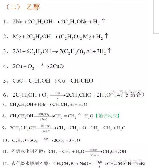 北京高中化学有机化学方程式_智康1对1中宁县高中