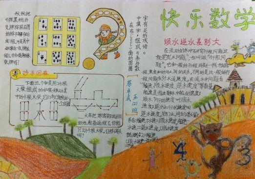 小学数学手抄报二年级