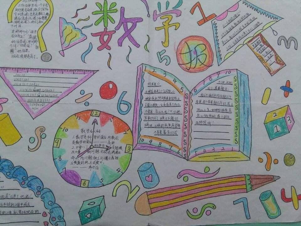 小学数学手抄报六年级!小学数学的学习在平时要养成良好的解题习惯。让自己的精力高度集中,使大脑兴奋,思维敏捷,能够进入最佳状态,在考试中能运用自如。爱智康小学教育频道为同学们分享小学数学手抄报六年级! 希望能帮到同学们!   小学数学手抄报六年级
