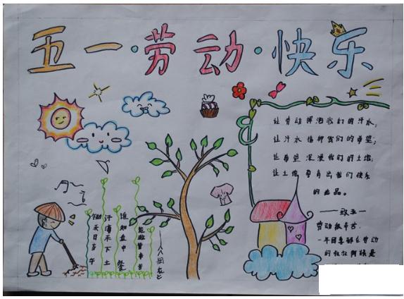 下面成都爱智康小编收集了四年级五一节手抄报图片供大家参考!