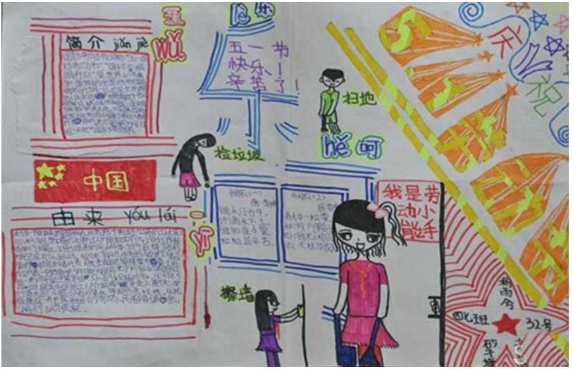 四年级五一节手抄报图片,小学四年级五一节手抄报改怎么制作