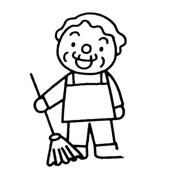 关于五一劳动节简笔画图片
