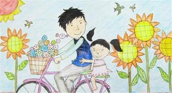 编为大家整理的关于父亲节的画二年级,更多有关父亲节图片、父亲