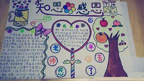 教师节手抄报集锦(1)