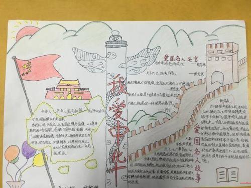 同学们   每年的十月一日是我们伟大祖国的生日,作为一个中国人,我们这天一定很自豪.图片