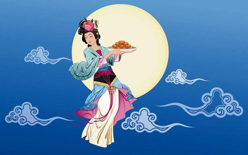 中秋节快乐的图片