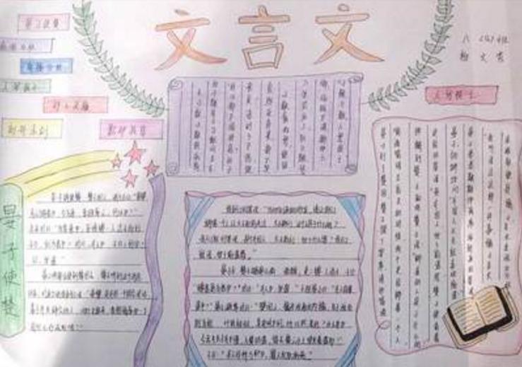 初中语文常识获奖手抄报