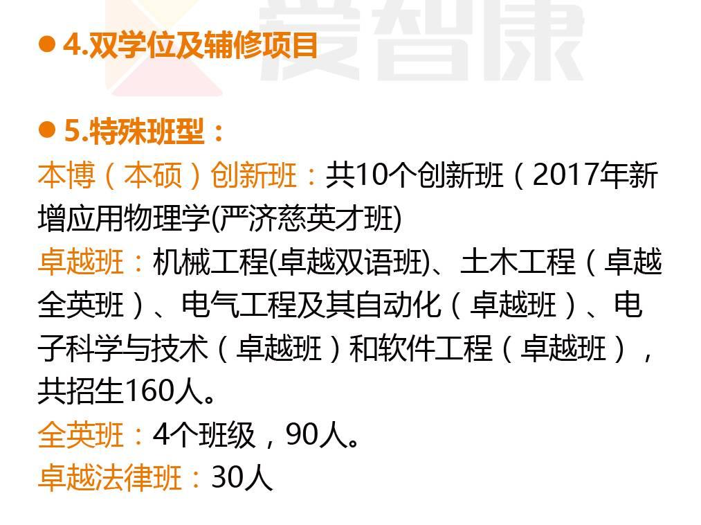 华南理工大学特殊班型