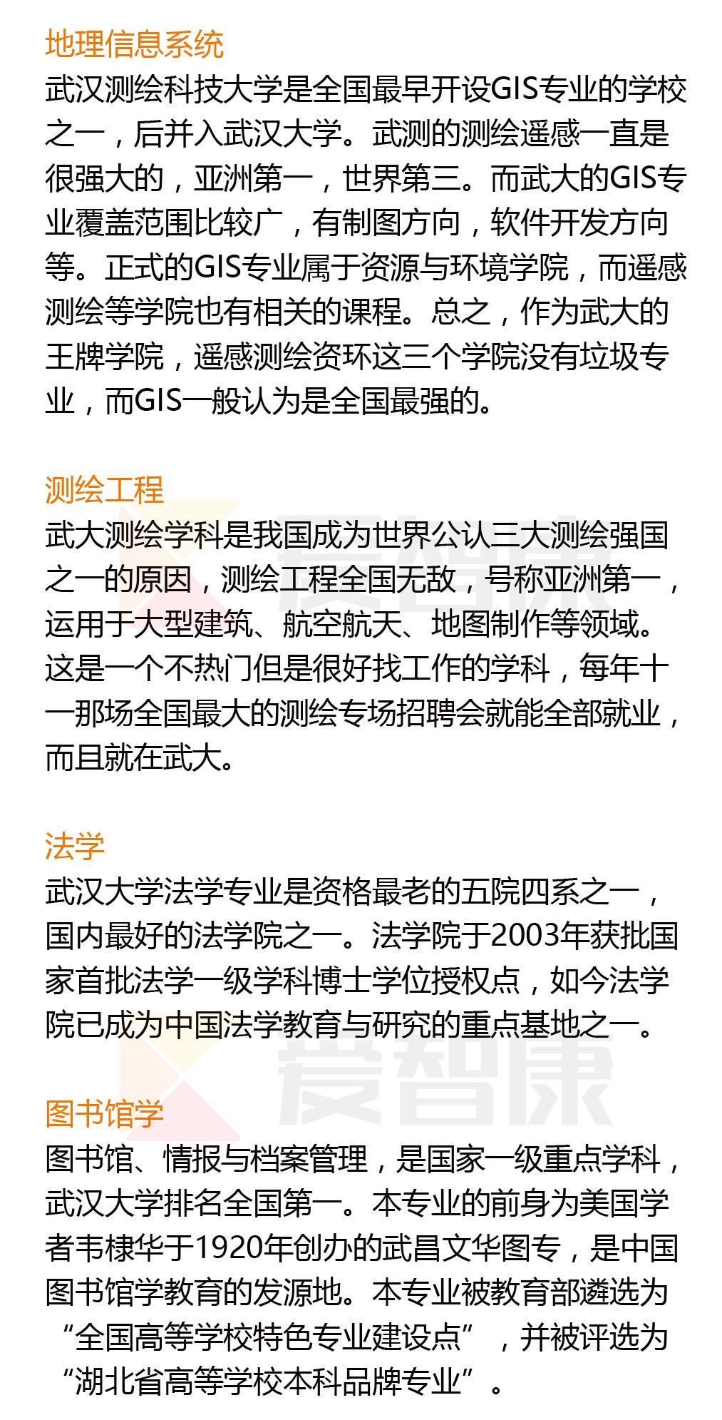 武汉大学优势学科2