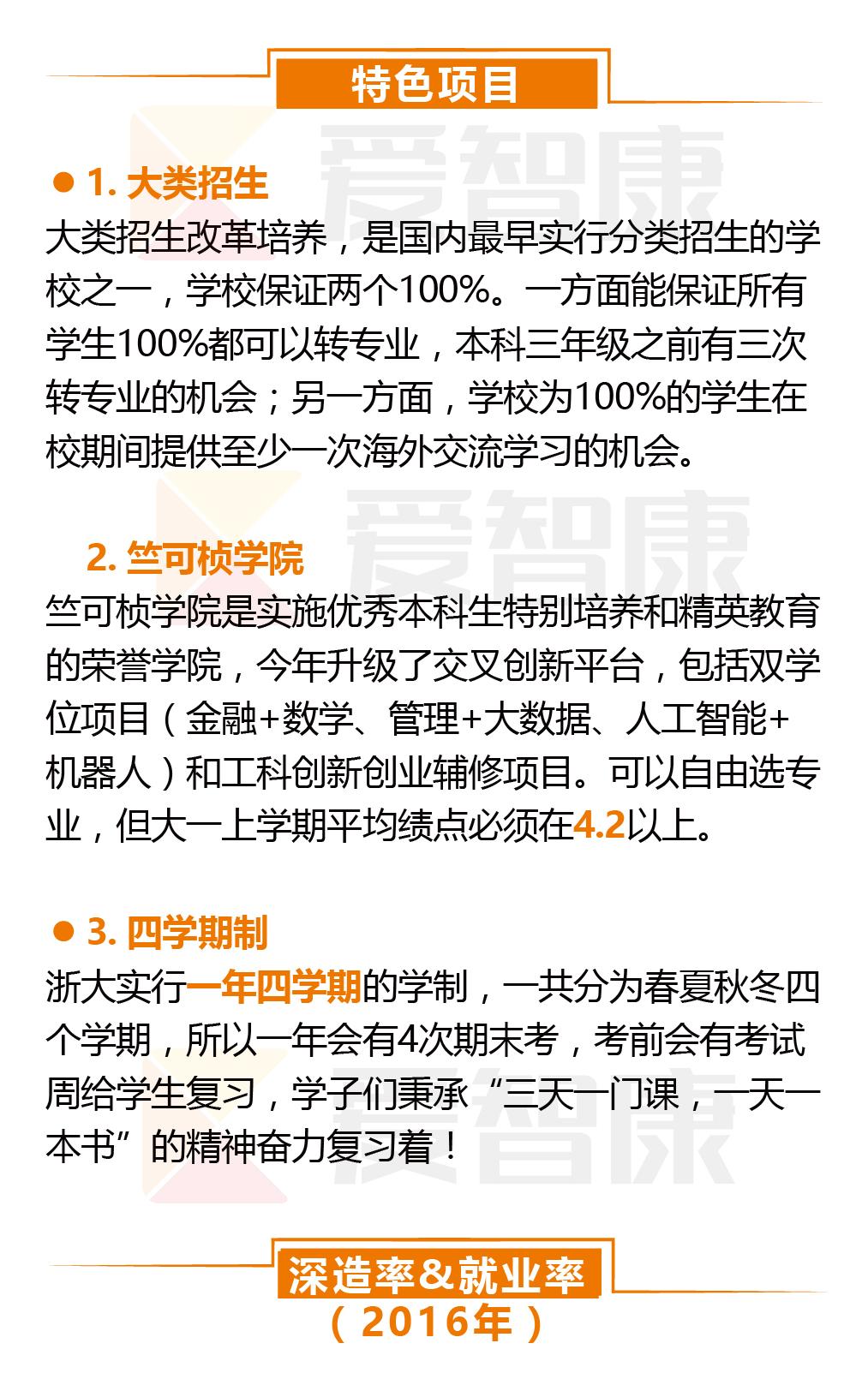 浙江大学特色项目