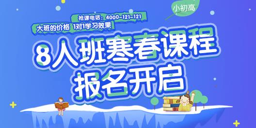 2017爱智康寒春课程