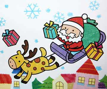 圣诞节画画作品大全(3)
