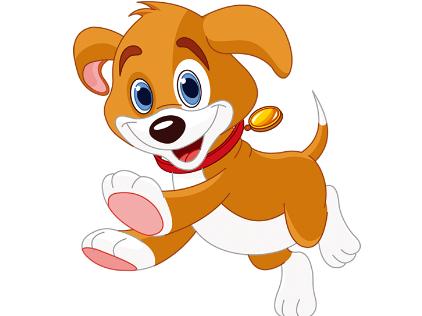 有一只可爱的小狗经常在我家门口出没,它叫瑶瑶