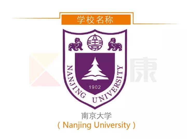 南京大学名称及校徽