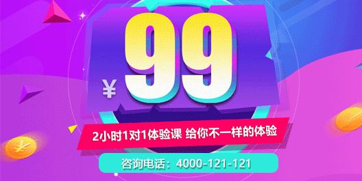 99元1对1体验课