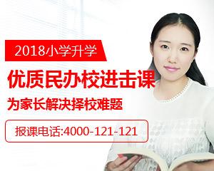 2018小学升学民办校