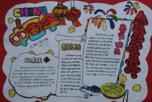 春节由来的手抄报三年级,希望可以帮助到大家,同学们的学科有什么疑问