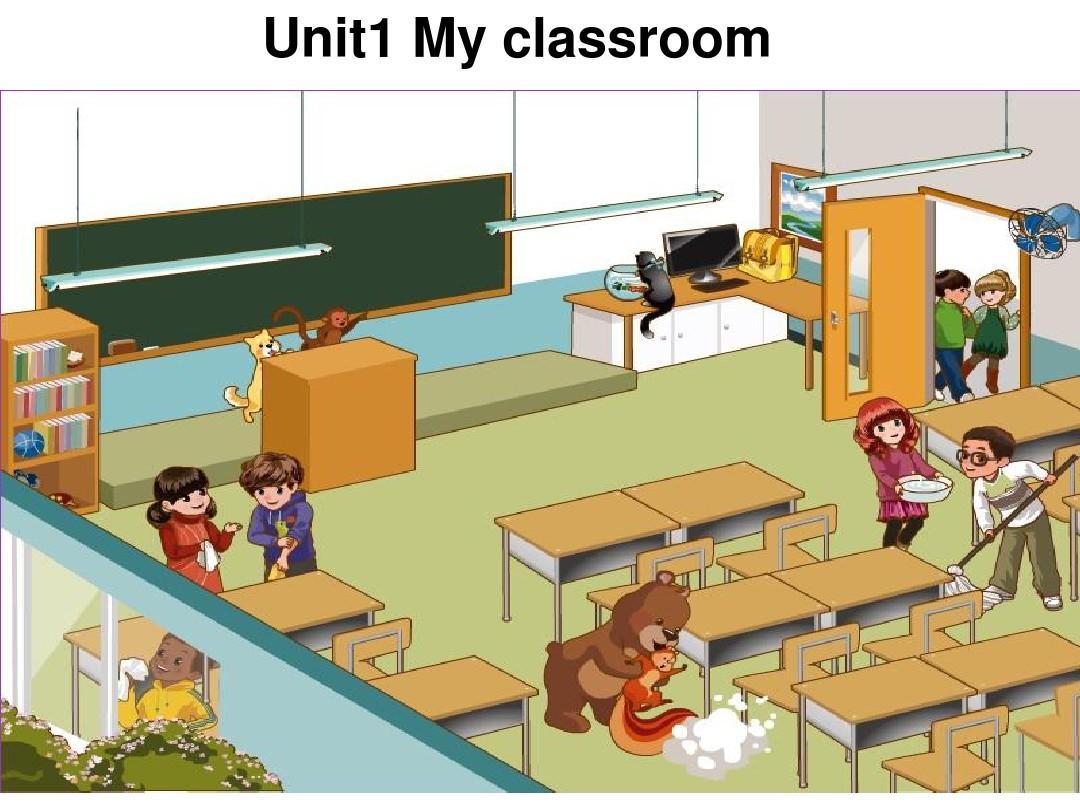 四年级上册英语 Unit 1 My Classroom