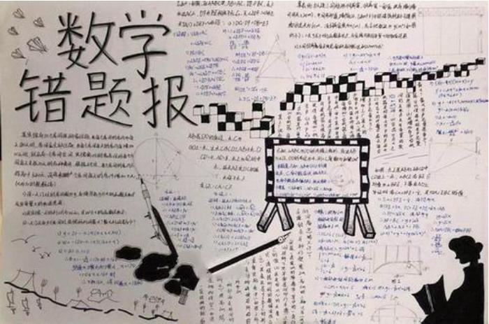 初中数学手抄报(大全)