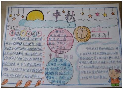 好了,今天小编分享的中秋节手抄报的内容就到这里,同学们如有学习上的