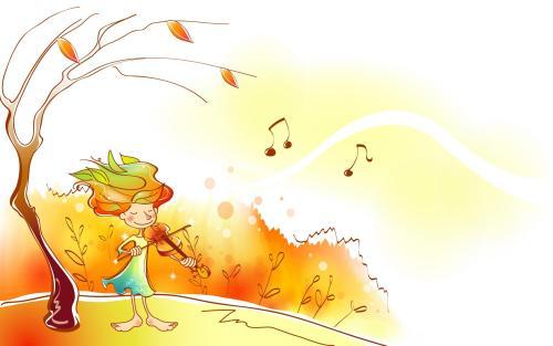 高三英语作文:美丽的秋天图片