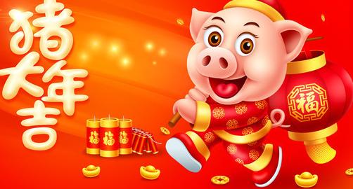 2019年猪年春节手抄报资料大全
