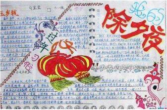 2019年天津七年级寒假手抄报