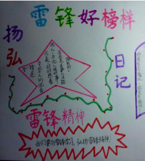 北京小学二年级关于学校手抄报图片