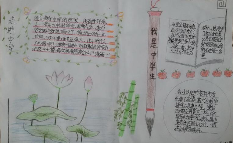 北京小学关于四季的手抄报