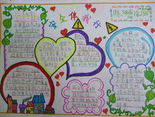 北京小学超级好看的手抄报模板图片