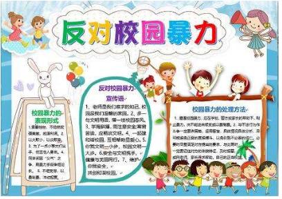 北京小学关于安全教育的手抄报图片