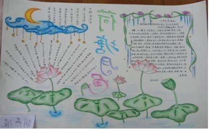 北京小学语文手抄报内容图片