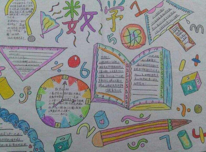 北京小学六年级数学手抄报图片图片
