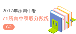 2018年深圳中考录取分数线