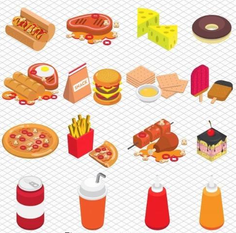 初中英语作文:垃圾食品