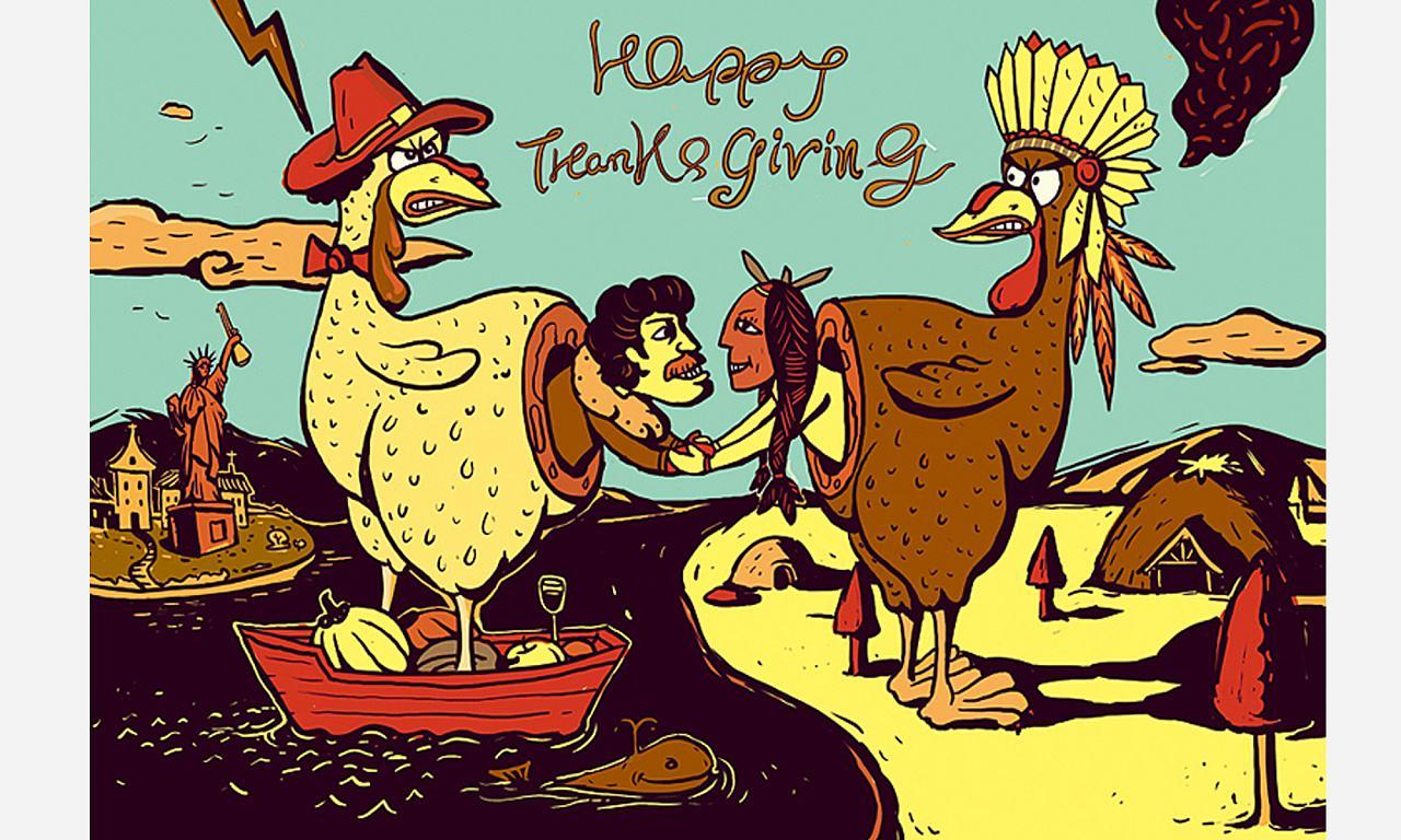 感恩节吃火鸡的寓意