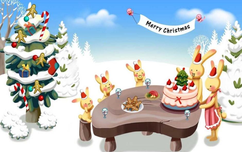 2018年初中生圣诞节手抄报图片5张