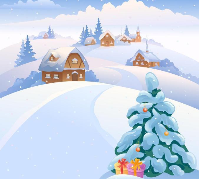 2018年初二圣诞节手抄报图片5张