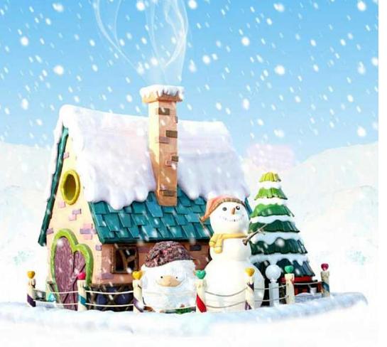 2018年初三圣诞节手抄报图片5张