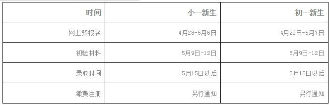 2019年深圳市耀华实验学校义务教育阶段招生简章