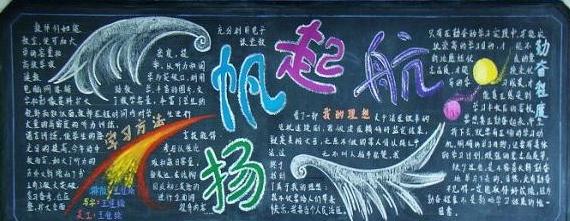 2019年深圳开学第一课黑板报高二年级