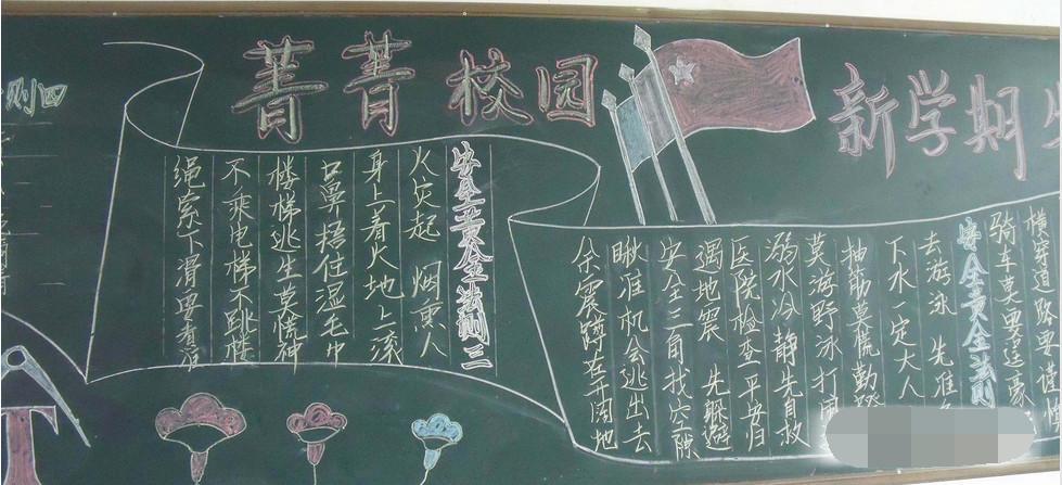 2019年深圳开学第一课黑板报高三年级