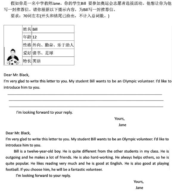初二第一次月考英语作文,初二英语作文,初二第一次月考
