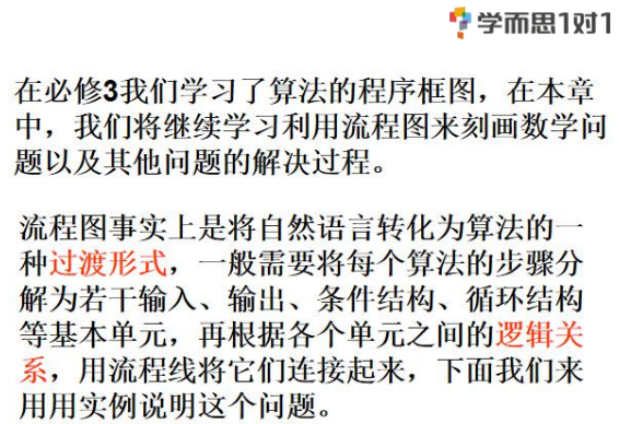 深圳高中数学选修1-2流程图知识点总结归纳