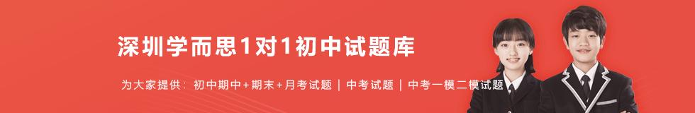 2020年深圳初中试题答案