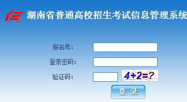 湖南2019年高考录取结果查询系统