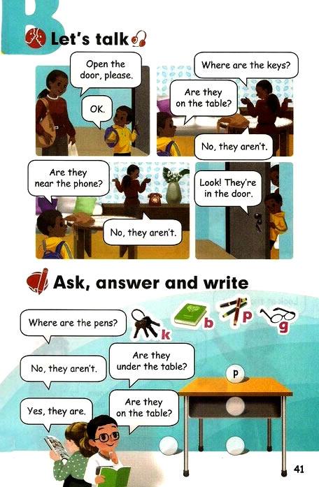 四年级上册英语unit4