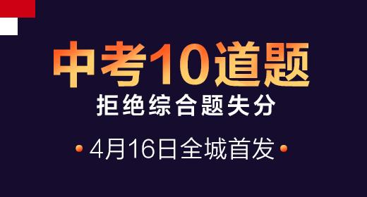 中考10道题